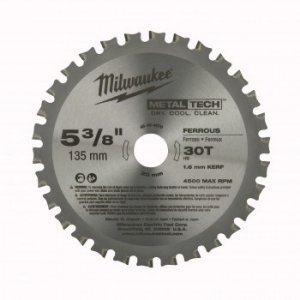 Lâmina de Serra Circular 135 mm para cortar metais Milwaukee 48-40-4070