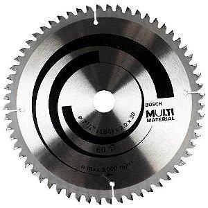 """Disco de Serra Circular Multimateriais 7-1/4"""" - BOSCH-2608642193"""