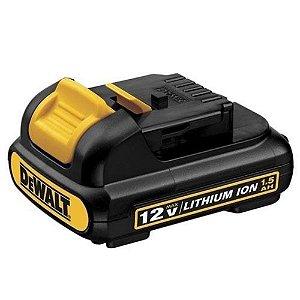 Bateria 12V 1,3AH p/ Parafusadeira Furadeira DeWalt DCB120-B2