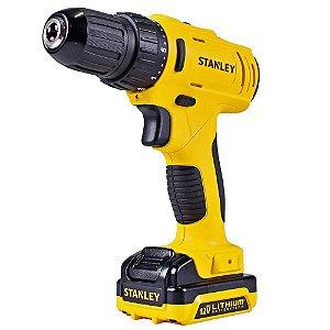 "Furadeira Parafusadeira 3/8"" à bateria 12 volts - SCD12S1 Stanley"