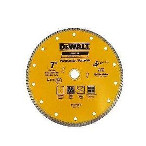 "Disco Diamantado 7"" Porcelanato Para Esmerilhadeira DeWalt DW57700HP"