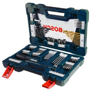 Kit de Brocas, Bits e Soquete c/ 91 peças V-Line Bosch