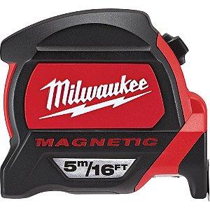 Trena Emborrachado Magnética 5M Milwaukee 48-22-7216