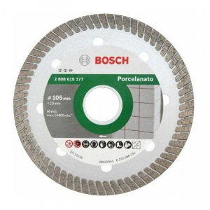 DISCO DIAMANTADO 105MM PARA PORCELANATO E MÁRMORE BOSCH 2608615177