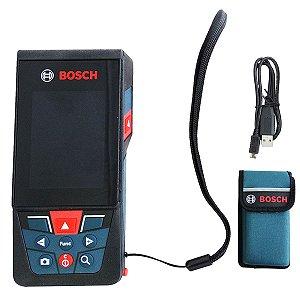 Trena a Laser Profissional Bosch GLM 120 C Bluetooth