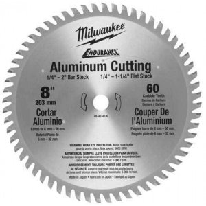"Disco de Serra Circular 8"" (203mm) 60 Dentes Milwaukee 48-40-4530"