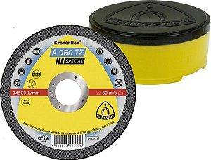 Disco de Corte 115mm Klingspor A 960 TZ p/ Metal, Aço, Inox (Caixa com 25UN)