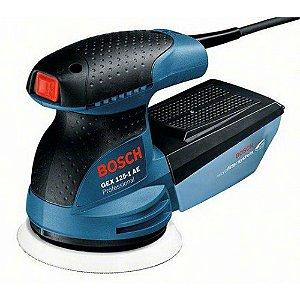 Lixadeira Excêntrica AE Professional 220v Bosch GEX 125-1 06013875E0