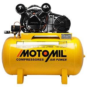 Compressor de Ar 10 Pés CMV 10Pl/100 110/220V 00021701.7 Motomil