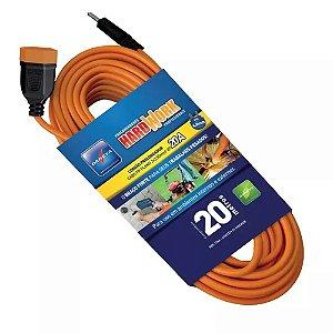Extensão cordão prolongador 20 Metros 2x2 5mm DANEVA 1346