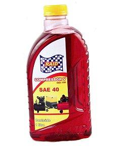 Óleo para compressor champcompressor VG150 (SAE40) Vermelho - 1L