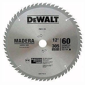 "Disco de serra WIDEA para madeira 12"" 60D DWA03140 DEWALT"