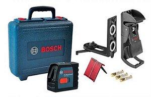 Nível a Laser GLL 2-15 + BM 3 + Maleta Bosch