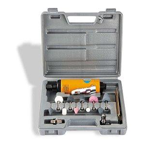 """Kit Retífica pneumática de 1/4"""" CH R-15K Chiaperini"""