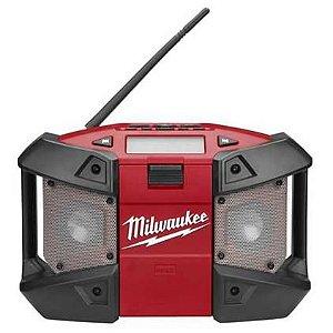 Radio de Trabalho a bateria M12 Milwaukee 2590-59 Somente Aparelho