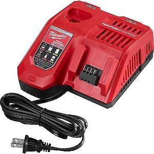 Carregador para Bateria RapidCharger Multi de 12V/18V M12/M18 110V Milwaukee 48-59-1808