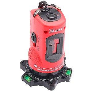 Nível a laser 10 metros com autonivelamento tripe e maleta MTX