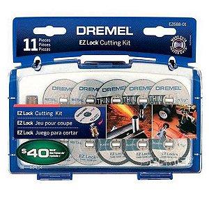 Kit para Cortar EZ Lock EZ688 Dremel 2615E688AG