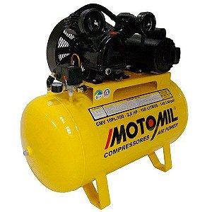 COMPRESSOR DE AR AIR POWER 9 PES 100 LBF/6.9BAR 2 HP 100L MONO 110V/220V MOTOMIL-CMV10PL-100