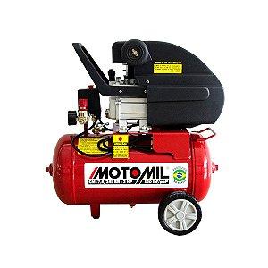 COMPRESSOR DE AR 7,6 PES 80 LBF/5.5BAR 2HP 24L MONO 220V MOTOMIL-CMI76-24