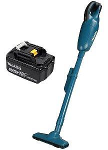 Aspirador De Pó A Bateria Dcl180z + Bateria 18v 3.0ah Makita