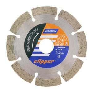 DISCO DIAMANTADO SEGMENTADO 110X20MM CLIPPER NORTON 70184624367