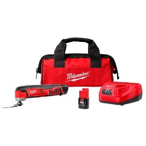 MULTICORTADORA A BATERIA 12V M12 C/ 02BAT 2.0AH, CARREG 220V E BOLSA MILWAUKEE 2426-259