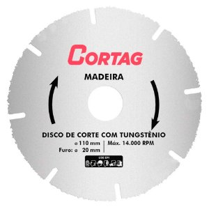 Disco Diamantado 110MM Continuo ECO 61548 Cortag