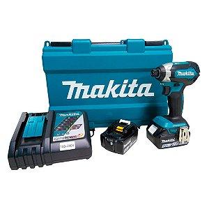 Parafusadeira Impacto À Bateria 18v Makita 170mm Dtd153rte