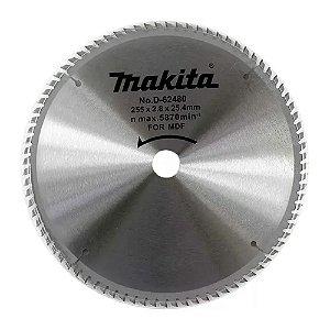 Lâmina Serra Esquadria Makita 10 Pol. MDF 84 Dentes D-62480