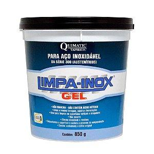 Limpa Inox Gel P/ Aço Inoxidável Quimatic Tapmatic LG2 850g