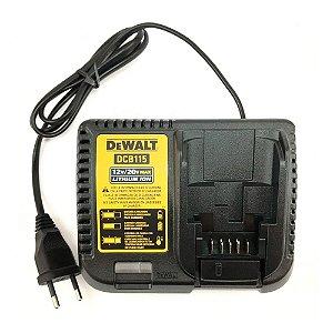 N583203 CARREGADOR BIVOLT 12V/20V 4AH DCB115-BR D DCB115 DCD796 DCD791 DCF620 DCF889DCD985DCD795 DCD980 DCD780 DCF887