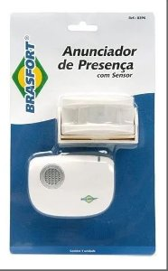 Anunciador De Presença C/ Sensor Alcance 100mts - Brasfort