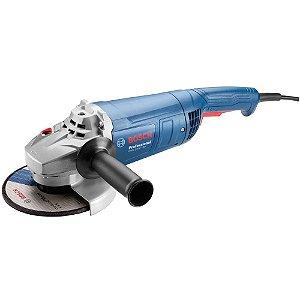 """Esmerilhadeira Bosch 7"""", 2200 watts, GWS 22-180"""