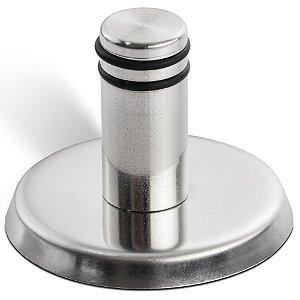 Gancho Design p/ Pendurar Objetos até 3kg Fischer 547665 Inox