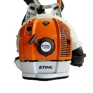 Soprador Stihl costal Br 600 a gasolina 4282-200-0014