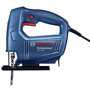 Serra tico tico 450W velocidade variável GST650 220V Bosch