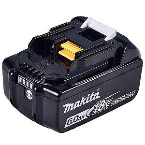 Bateria recarregável de lítio 18V 6.0 Ah BL1860B Makita