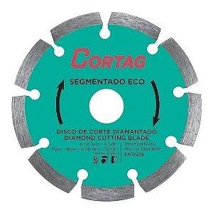 Disco De Corte Diamantado 110mm Segmentado Eco 61699 Cortag