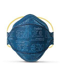 Mascara Descartavel Respiratoria N95 Pff1 Respirador Azul 3m