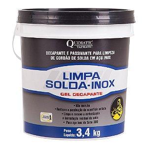 Limpa Solda Inox Quimatic GEL 3,4 Kg LS2 TAPMATIC