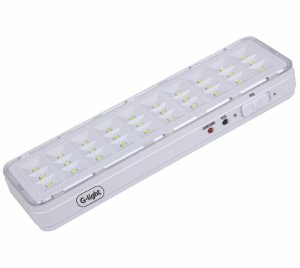 Lâmpada De Emergência slim 30 Led G-light Bateria Litio