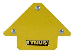 Esquadro Magnético Robusto para Soldador 12kg Lynus