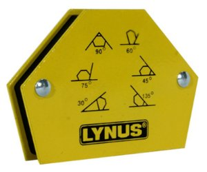 Esquadro Magnetico Robusto para Soldador Lynus 12Kg