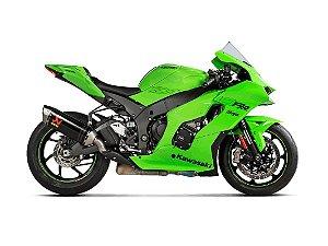 Ponteira Akrapovic Carbono para Kawasaki ZX10 R  21~