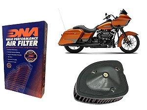 Kit Filtro de Ar Esportivo Harley Davidson FLTRXS Road Glide Special 114 CI 19' - 20'