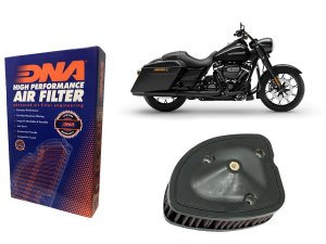 Kit Filtro de Ar Esportivo Harley Davidson FLHRXS Road King Special 114 CI 19'-20'