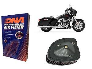 Kit Filtro de Ar Esportivo Harley Davidson FLHT Electra Glide Standard 107 CI 19' - 21'