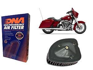 Kit Filtro de Ar Esportivo Harley Davidson FLHX Street Glide 107 CI 17' - 21'