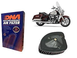 Kit Filtro de Ar Esportivo Harley Davidson FLHR Road King 107 CI 17' - 21